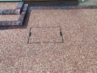 New Resin Bound Driveway in Sale, Manchester