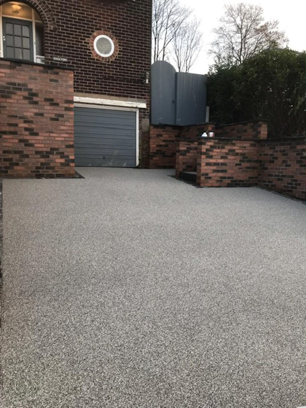 New Resin Bound Driveway