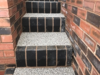 New Resin Bound Steps