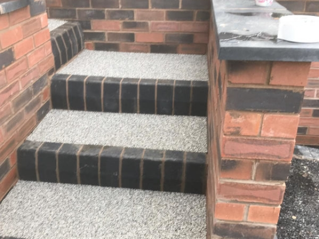 New Resin Bound Steps
