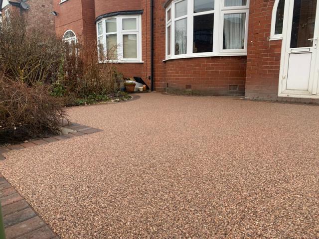 Resin Bound Driveway in Urmston