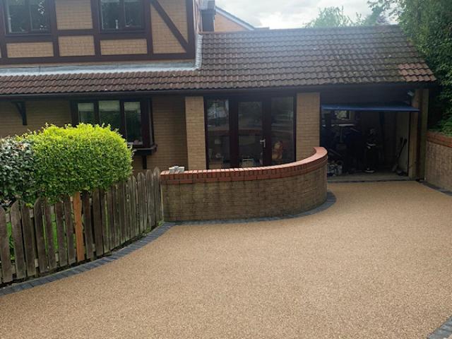 New Resin Bound Driveway in Heaton Mersey
