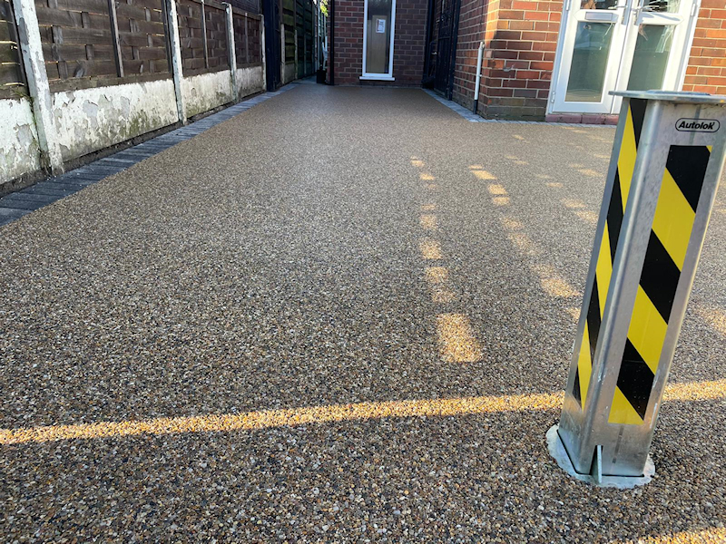 New Resin Bound Driveway in Gatley area of Stockport