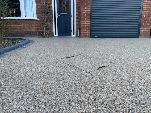 New Resin Bound Driveway Sale, Manchester