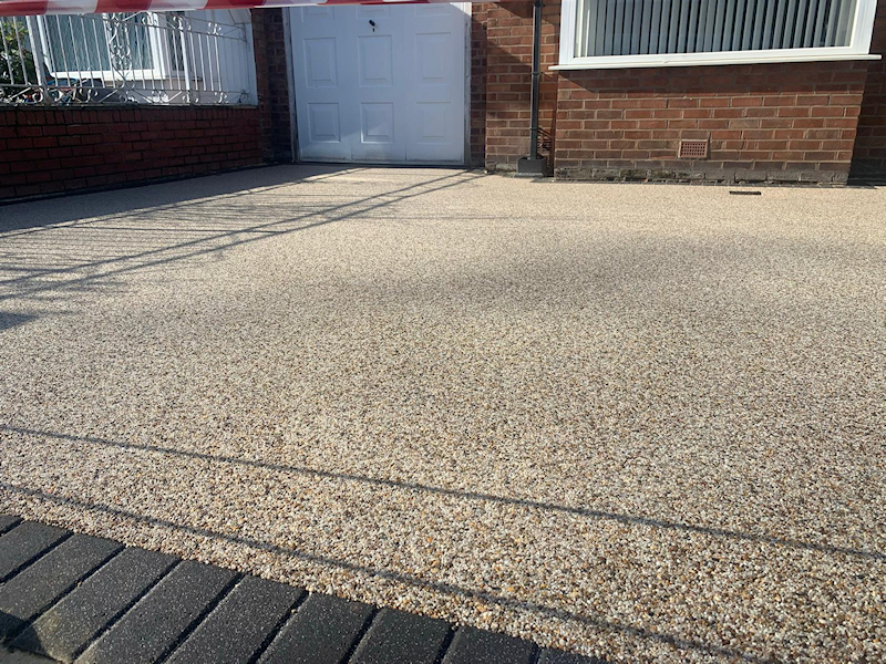 Resin Bound Driveway in Gatley, Stockport
