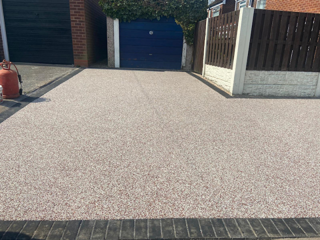 New resin driveway Tyldesley Manchester
